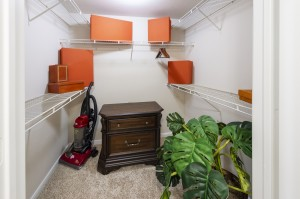 Two Bedroom Apartments for Rent in Northwest Houston, TX - Model Closet (3)